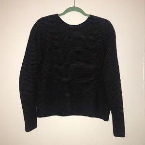 Eileen Fisher black sweater